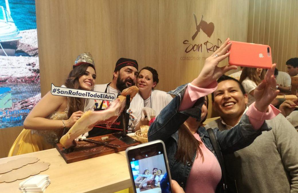 San Rafael brilló en la Feria Internacional de Turismo de Buenos Aires