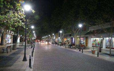 NUEVA ILUMINACIÓN LED EN LOS PASEOS CULTURALES Y TURÍSTICOS DE SAN RAFAEL
