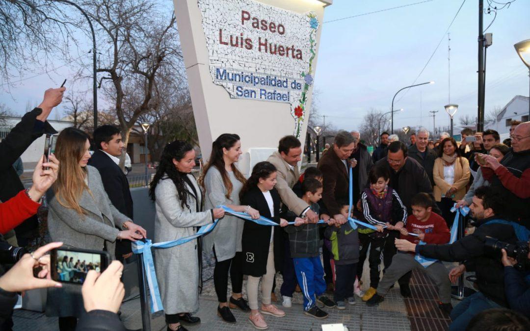 PASEO LUIS HUERTA: UNA NUEVA OBRA QUE EMBELLECE LA CIUDAD