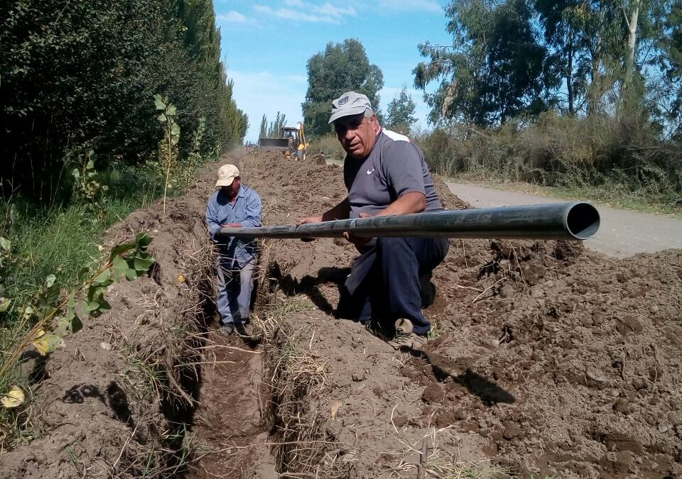 MUNICIPIO DE SAN RAFAEL: 50.000 METROS DE REDES DE AGUA POTABLE EN LOS DISTRITOS