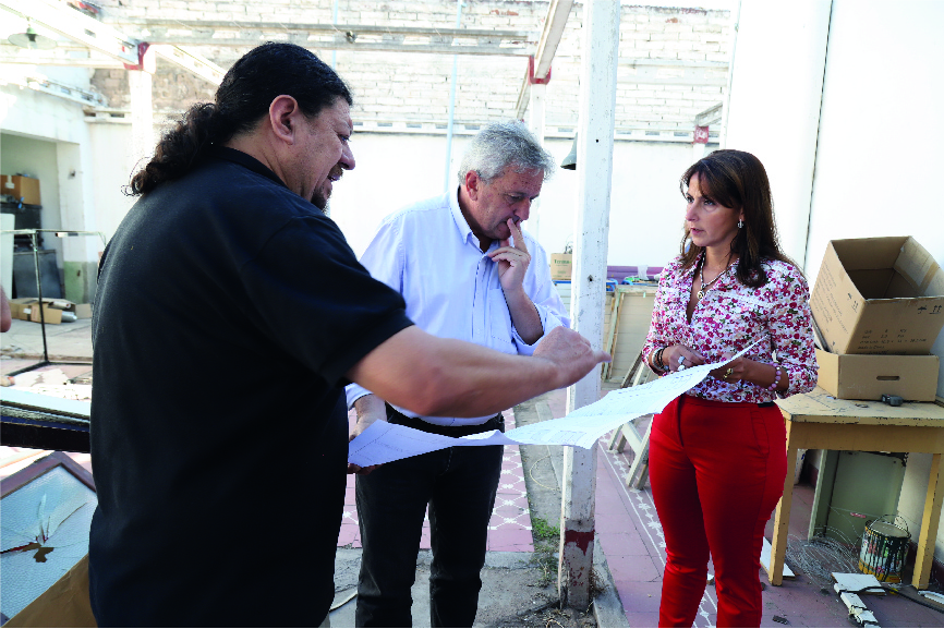 EL MUNICIPIO AYUDA A APRID A MEJORAR SU NUEVO EDIFICIO